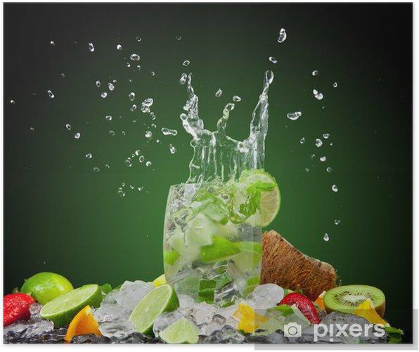Póster Bebida fresca - Para restaurante