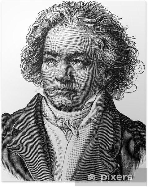 Poster Beethoven - Hommes