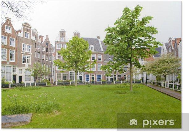 Begijnhof, Amsterdam, Netherlands Poster - Europe