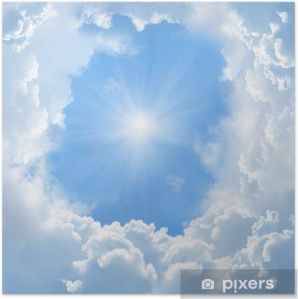 Póster Bellas nubes - Temas