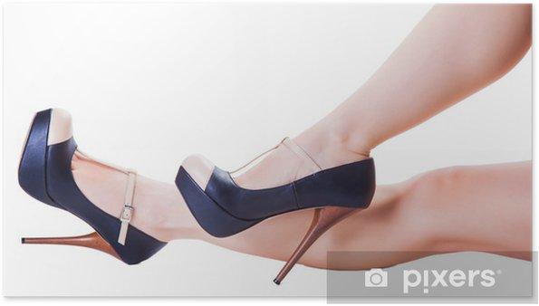 07a1c6c4328 Poster Ben i högklackade skor • Pixers® - Vi lever för förändring