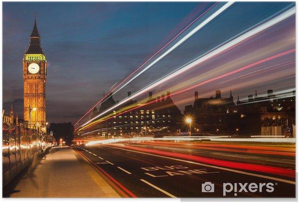 Poster Big Ben in Londen - Thema's