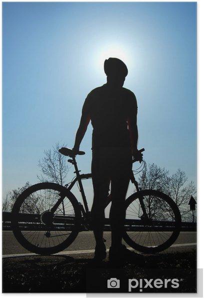 Poster Biking - Sports individuels