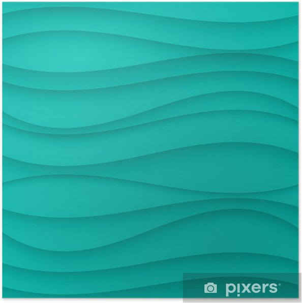 Poster Bleu texture de fond ondulé transparent. - Arrière plans