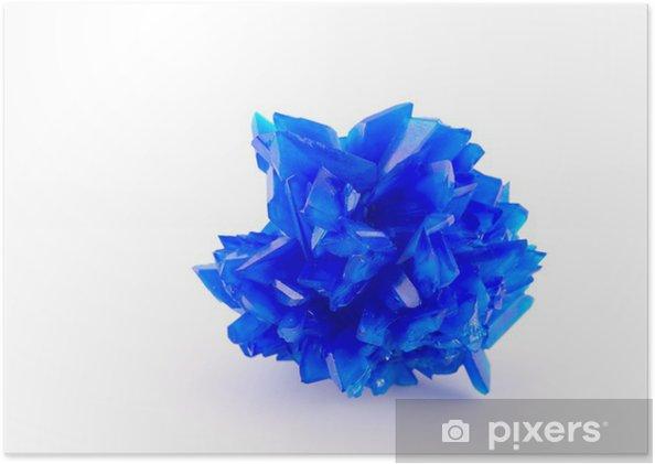 Poster Bleu vitriol - Mode