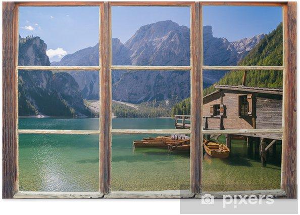 Blick aus dem Fenster Poster - Themes