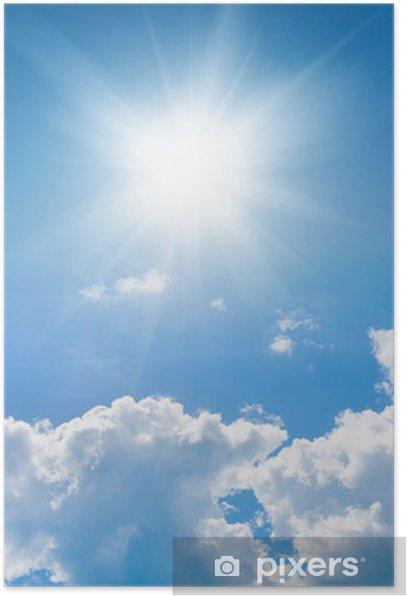 Poster Blue sky - Ciel