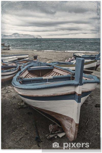 Poster Boat - Boten