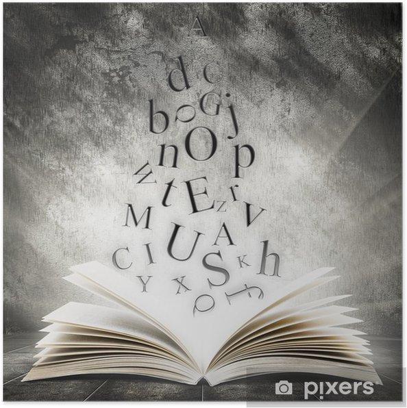 Poster Boek - Onderwijs