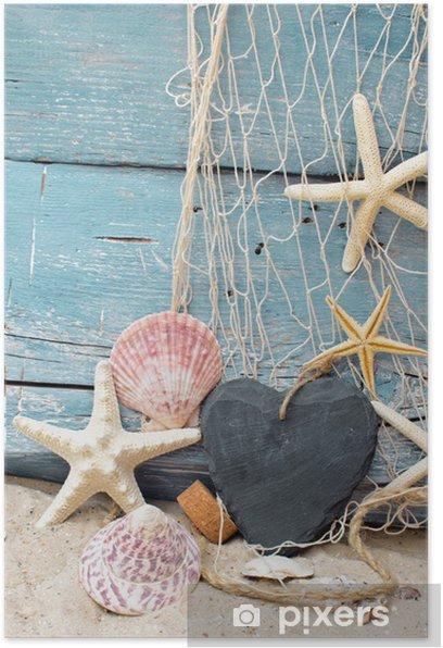 Poster Bon pour des vacances à la mer - Vacances