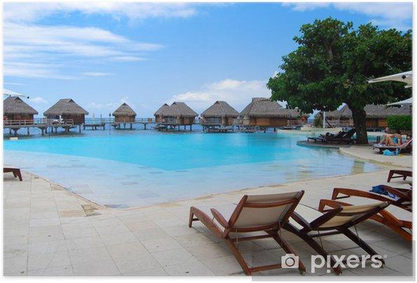 Poster Bora Bora - Amérique