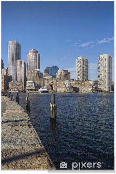 Poster Boston, dans le Massachusetts, États-Unis - Amérique
