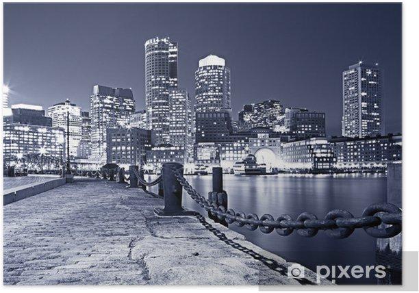 Boston in Massachusetts, USA Poster - Themes