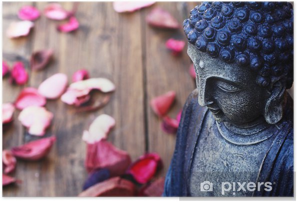 Poster Bouddha chiffre - Thèmes