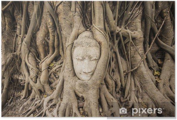 Poster Bouddha de grès - Asie