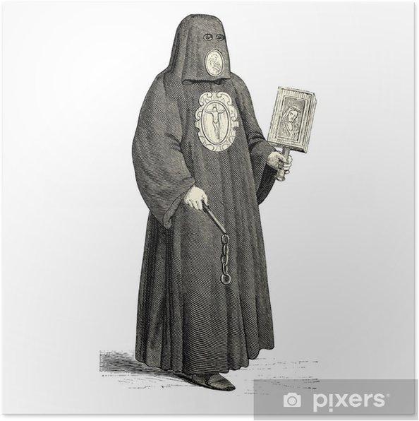 Poster Bourreau de l'époque médiéval - Hommes