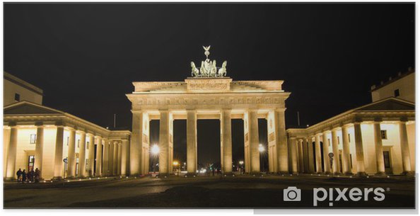 BRANDENBURG GATE, Berlin, Germany Poster - Berlin