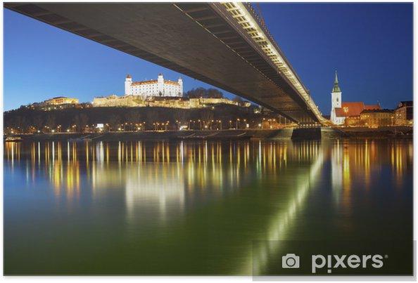 Poster Bratislava, Slovaquie - Europe