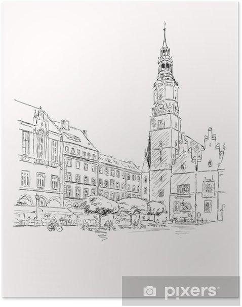 Poster Breslau-Wroclaw - Thèmes