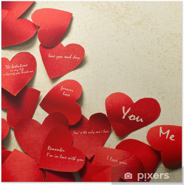 Corazon de papel para dia de san valentin