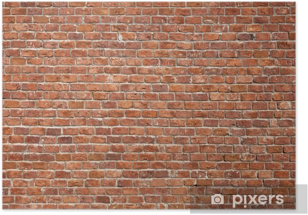 Brick Wall Background Poster - Themes