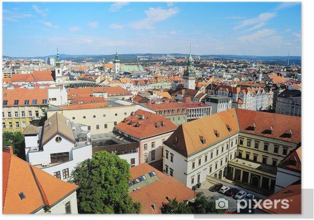 Brno panorama Poster - Europe