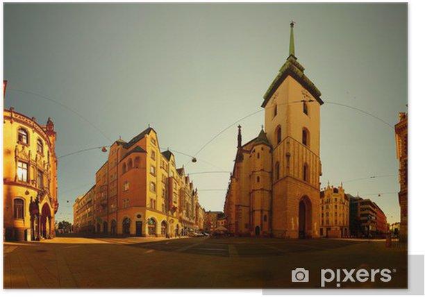 Brno Poster - Urban