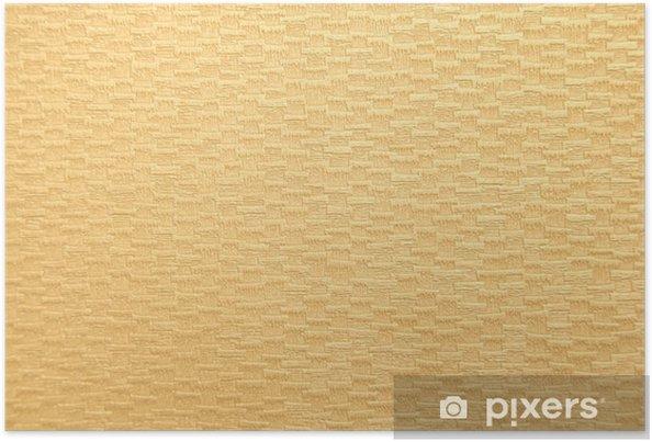 Poster Bronzage texture du papier - Signes et symboles