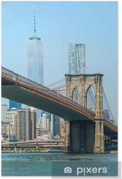 Brooklyn bridge Poster - New York