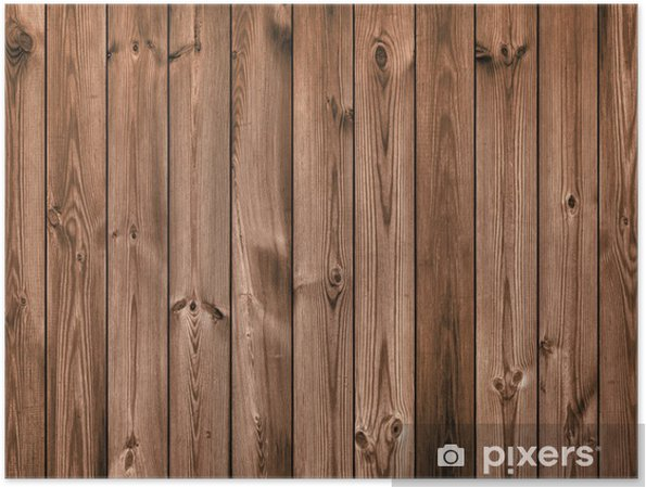 Brown Wood Planks As Background Or