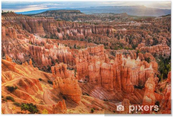 Poster Bryce Canyon, soluppgång - Amerika