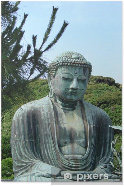 Póster Buda de Kamakura - Ciudades asiáticas