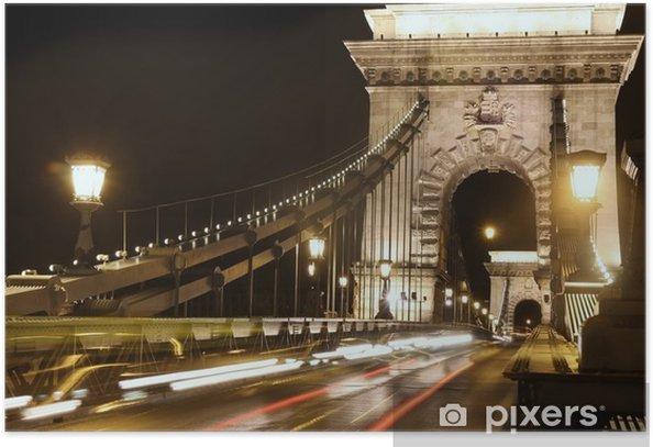 Poster Budapest, Hongrie - Europe