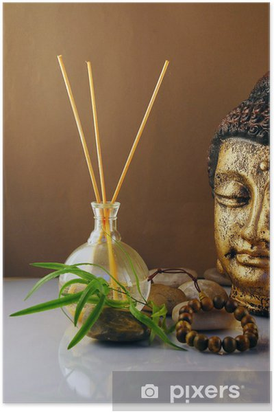 Poster Buddha-Figur - Thèmes