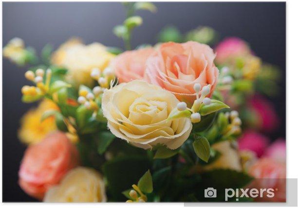 Poster Bunch of flowers - Fleurs