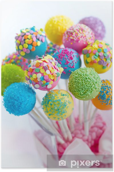 Poster Cake pops - Thema's