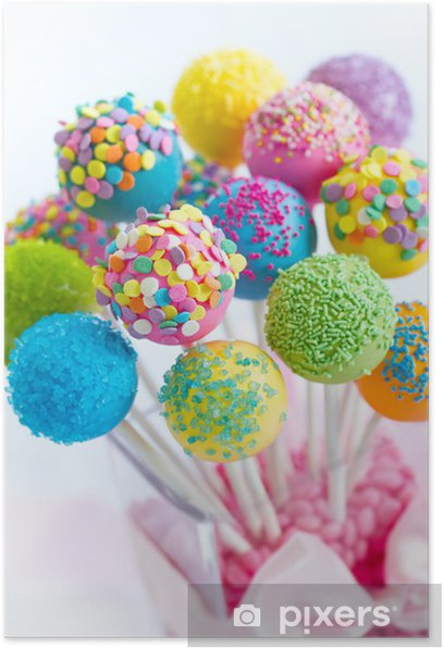 Cake pops Poster - Themes