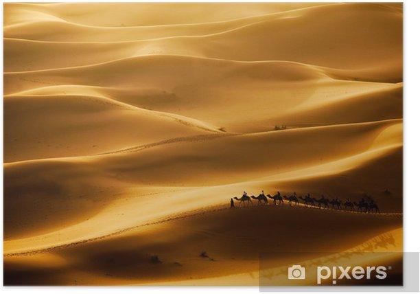 Camel Caravan Poster - Themes