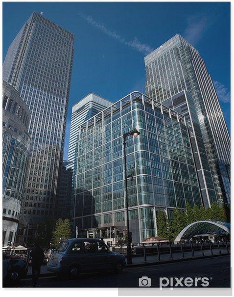 Poster Canary Wharf - Villes européennes