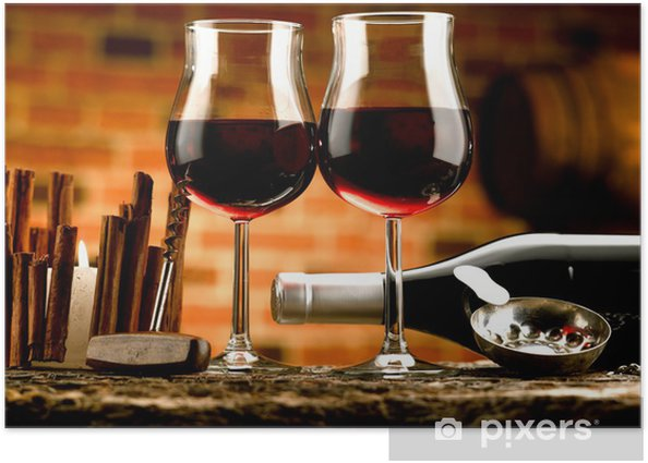 cantina di vino Poster -
