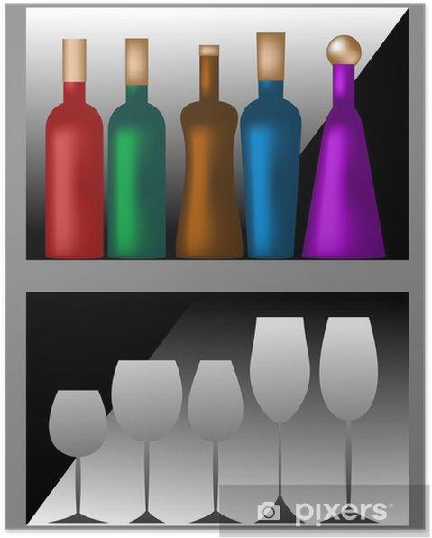 Poster Cantinetta - Alkohol