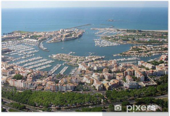 Cap d'Agde , le port Poster - Infrastructure