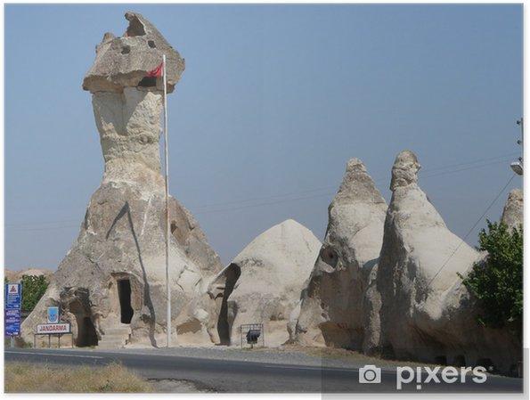 Poster Cappadoce Les Cheminees De Fees Pixers Nous Vivons Pour