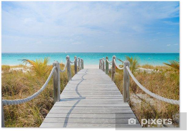 Caribbean beach Poster - Themes