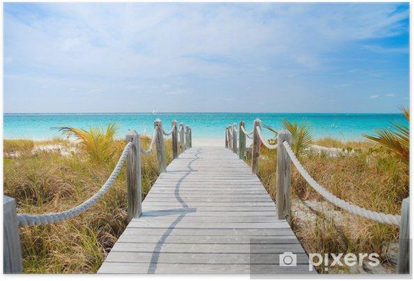 Poster Caribische strand - Thema's