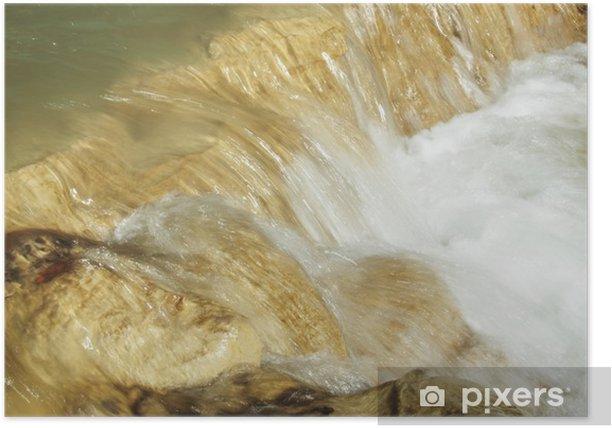 Póster Cascada - Agua