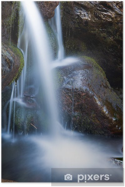 Póster Cascata - Maravillas de la naturaleza