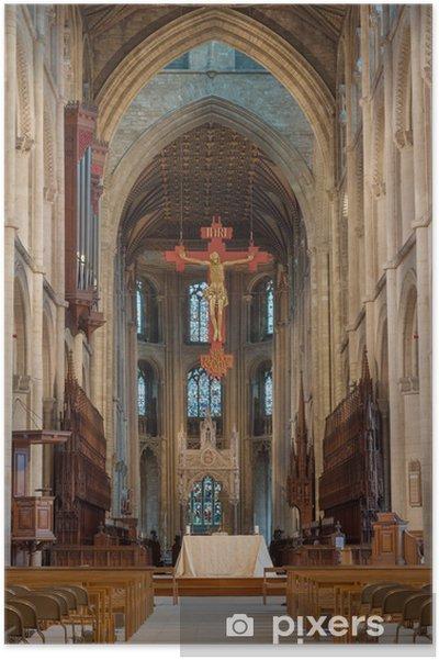 Poster Cathédrale de Peterborough - Bâtiments publics