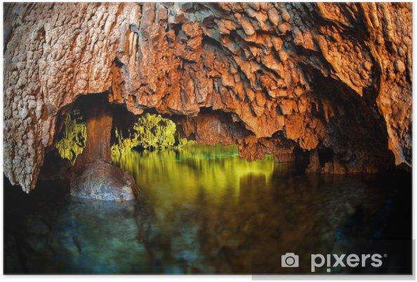 Póster Cenotes, cuevas submarinas, Yucatan - Temas