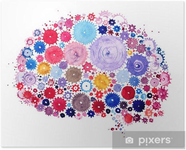 Poster Cervelle - Autres sentiments